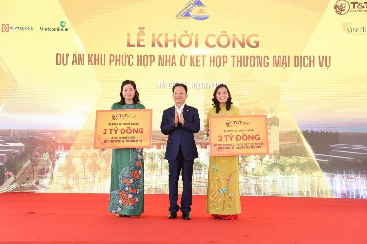tt group khoi cong khu phuc hop nha o thuong mai dich vu tai trung tam tp long xuyen