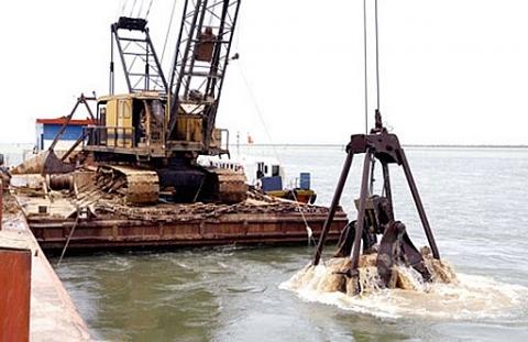 Thông tư Hướng dẫn sử dụng kinh phí nạo vét vùng nước cảng biển