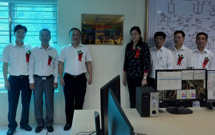 cong ty dien luc ha giang day manh ung dung khoa hoc cong nghe trong quan ly van hanh luoi dien