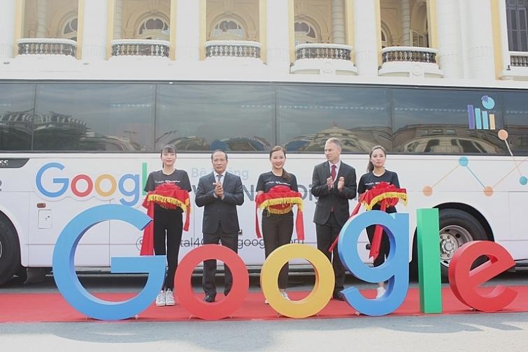 hop tac bo cong thuong va google mo rong chuong trinh be phong viet nam digital 40