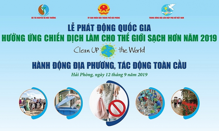 le phat dong quoc gia huong ung chien dich lam cho the gioi sach hon nam 2019