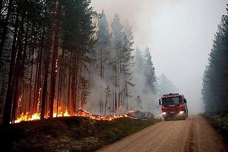 Ô nhiễm không khí ngày trầm trọng vì cháy rừng