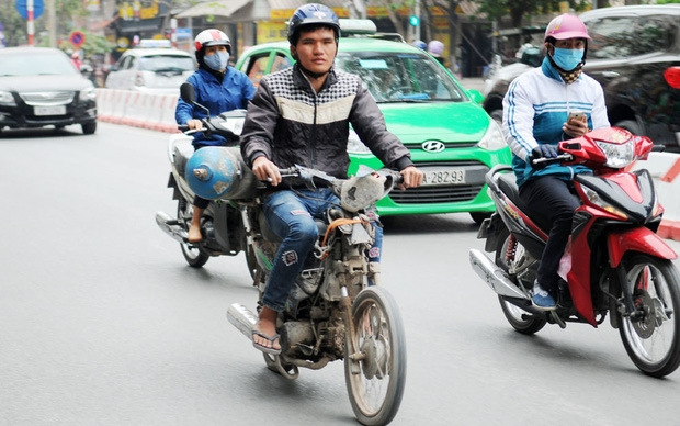 ha noi do kiem khi thai va ho tro doi xe mo to gan may cu