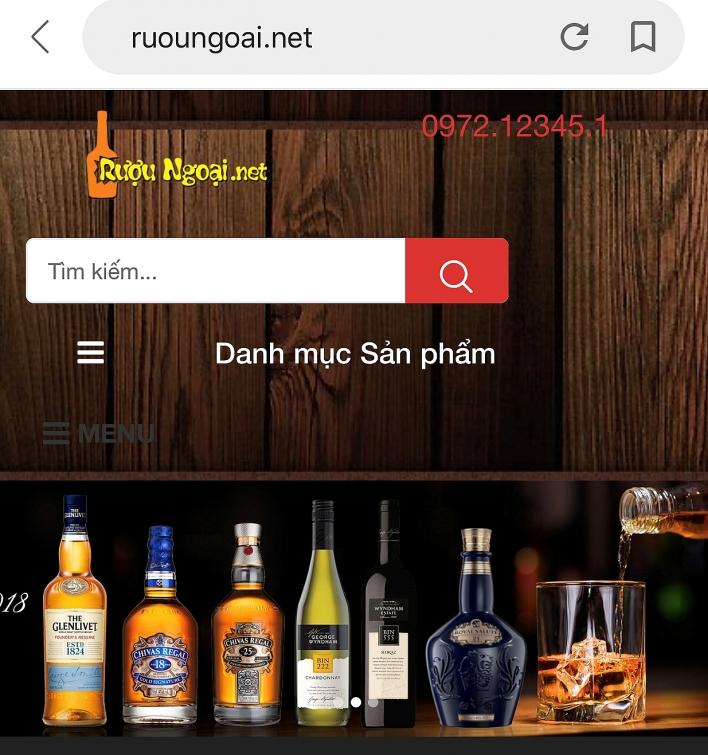 xu ly 3 website vi pham kinh doanh thuong mai dien tu