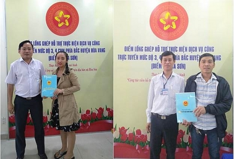 Xã Hòa Sơn: Luôn chú trọng làm tốt công tác cải cách hành chính
