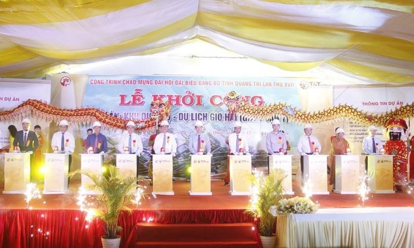 tt group khoi cong du an khu dich vu du lich gan 4500 ty dong tai quang tri