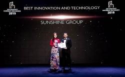 sunshine group am giai thuong bat dong san uy tin nhat dong nam a 2019