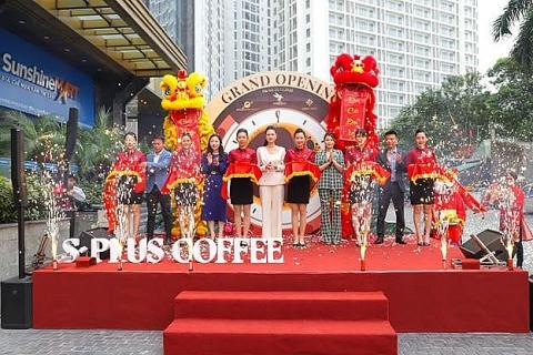 chinh thuc khai truong co so 3 s plus coffee hua hen la diem den ly tuong tai my dinh