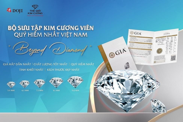 san sale chat ngat toi 27 cung trang suc doji va the gioi kim cuong