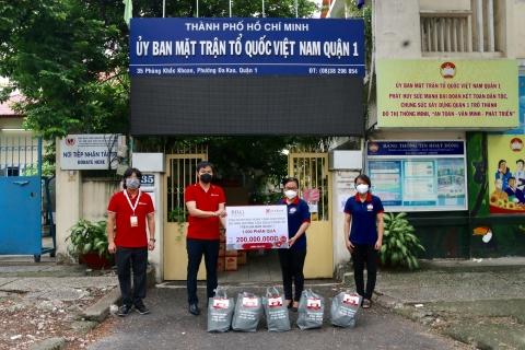 Tập đoàn BRG và Ngân hàng SeABank bàn giao trang thiết bị y tế phòng chống dịch Covid-19 trị giá 10 tỷ đồng cho Đà Nẵng