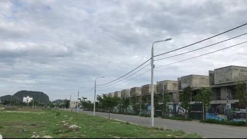 Đất Xanh miền Trung bị thu hồi giấy phép xây dựng hàng chục căn biệt thự