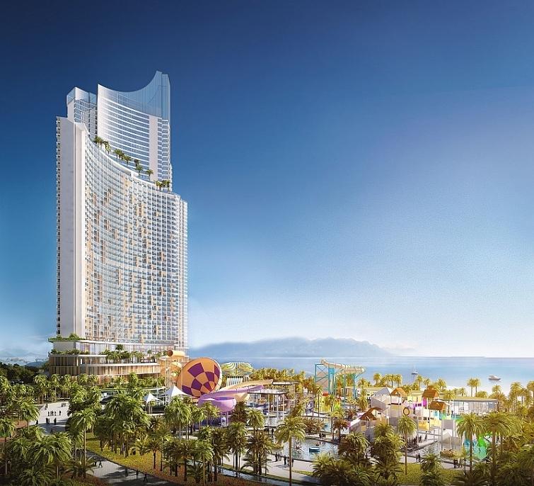 tien do xay dung sunbay park hotel resort phan rang the nao