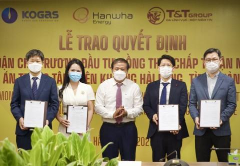 Quảng Trị: Trao quyết định chủ trương đầu tư dự án  Trung tâm điện khí LNG Hải Lăng trị giá 2,3 tỷ USD