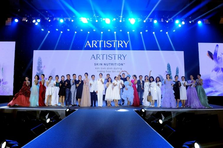 artistry ra mat dong san pham moi artistry skin nutrition