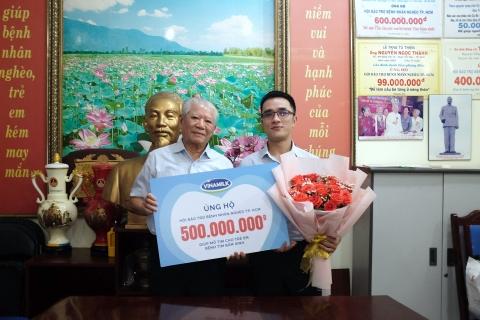 Hơn 1.200 bệnh nghèo đã được Vinamilk hỗ trợ phẫu thuật tim và mắt