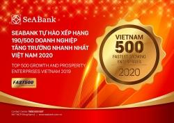 seabank tang hang vuot bac dung 190500 trong bang xep hang fast 500