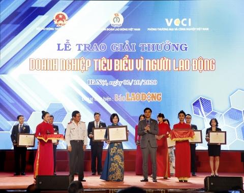 seabank nhan bang khen doanh nghiep tieu bieu vi nguoi lao dong