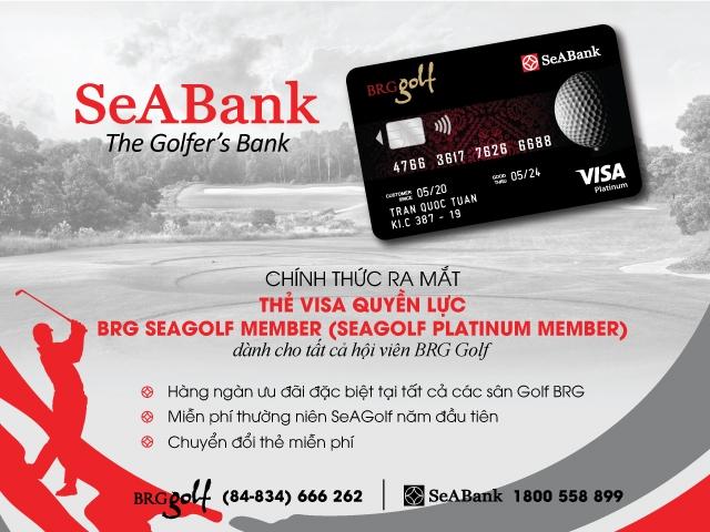 seabank va brg group ra mat the cao cap danh rieng cho hoi vien brg golf