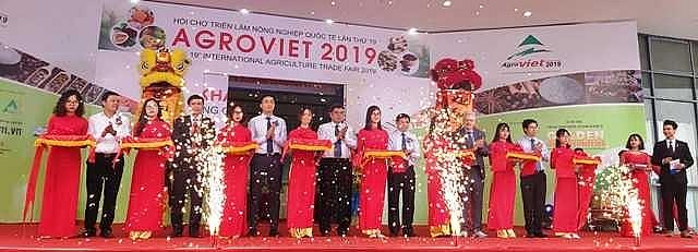 agroviet 2019 gioi thieu nhieu san pham nong nghiep cong nghe cao