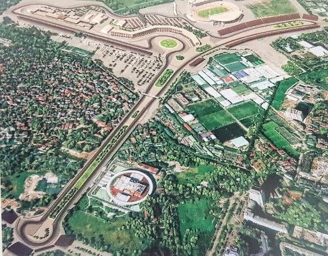 Hà Nội lên phương án tổ chức giao thông phục vụ thi công đường đua F1