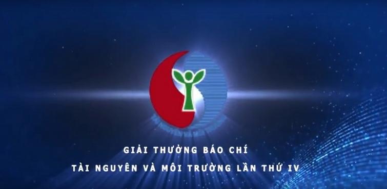 phat dong giai thuong bao chi tai nguyen va moi truong lan thu v