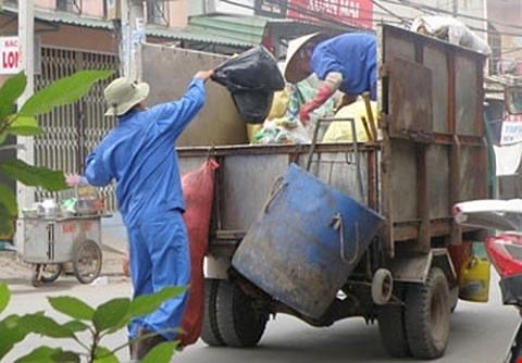thao go vuong mac trong chuyen doi phuong tien thu gom van chuyen rac