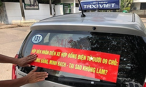 thay phuong an gan mao bang dan phu hieu phan quang doi voi taxi