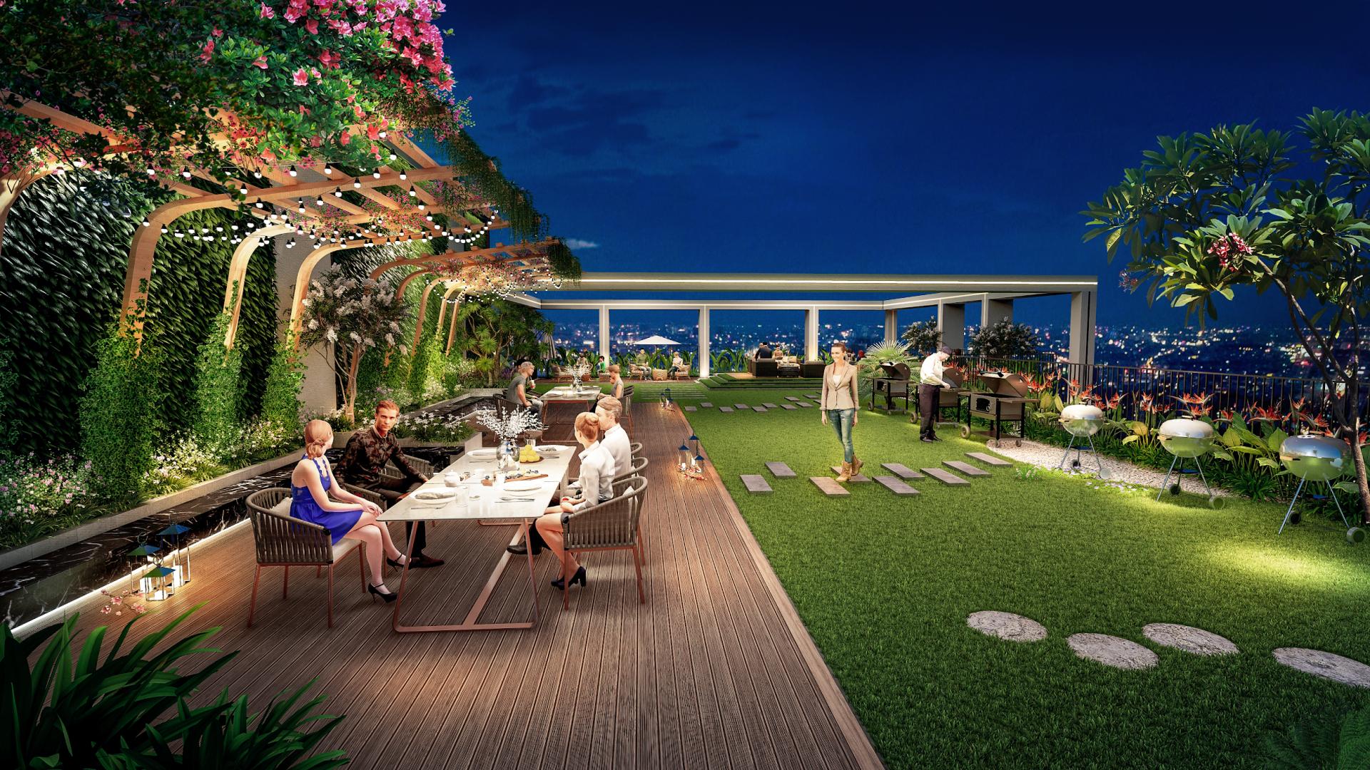 """Tận hưởng 365 ngày nghỉ dưỡng tại """"resort nhiệt đới"""" giữa lòng Hà Nội"""
