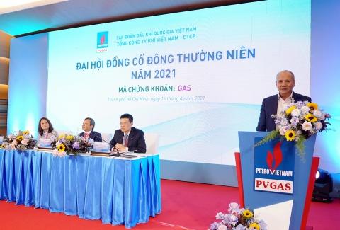 dai hoi dong co dong thuong nien nam 2021 pv gas voi ty le chia co tuc nam 2020 len den 30