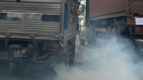 Triển khai thực hiện các lộ trình áp dụng tiêu chuẩn khí thải đối với phương tiện giao thông cơ giới đường bộ