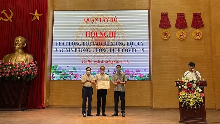 Đóng góp của Ciputra Ha Noi trong công tác phòng chống dịch Covid-19