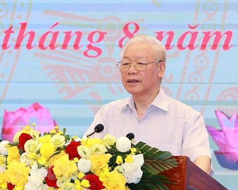 Toàn văn phát biểu của Tổng Bí thư tại Hội nghị toàn quốc triển khai Chương trình hành động của MTTQVN thực hiện Nghị quyết Đại hội XIII của Đảng