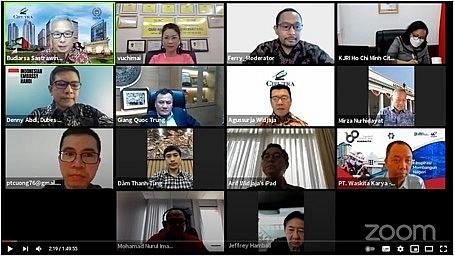 """Ciputra Hanoi tham dự Hội thảo trực tuyến """"Chia sẻ kinh nghiệm đầu tư tại Việt Nam"""""""