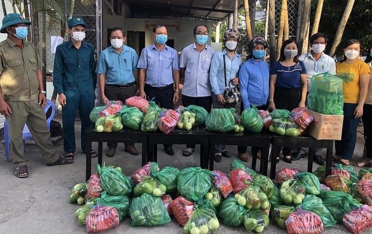 Phường Điện Nam Trung, phát triển kinh tế - xã hội và luôn đề cao công tác phòng chống dịch Covid-19