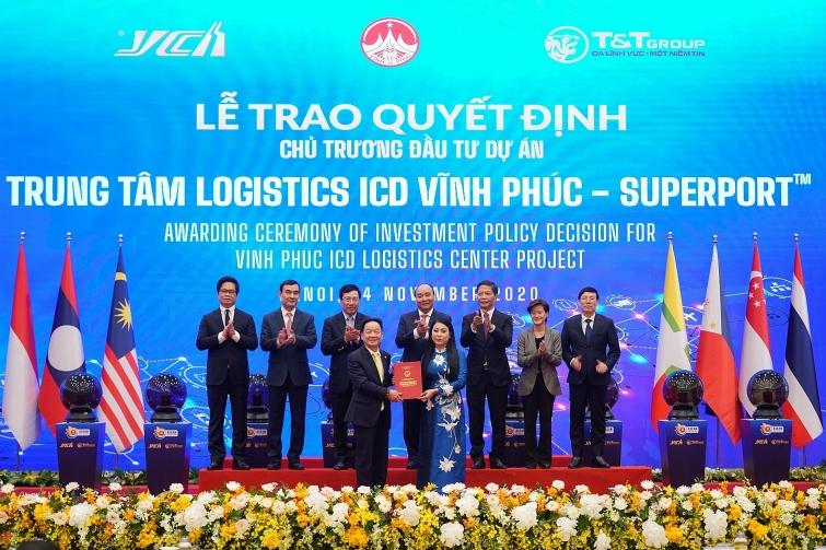 khoi dong mang luoi logistics thong minh asean voi du an dau tien trung tam logistics vinh phuc