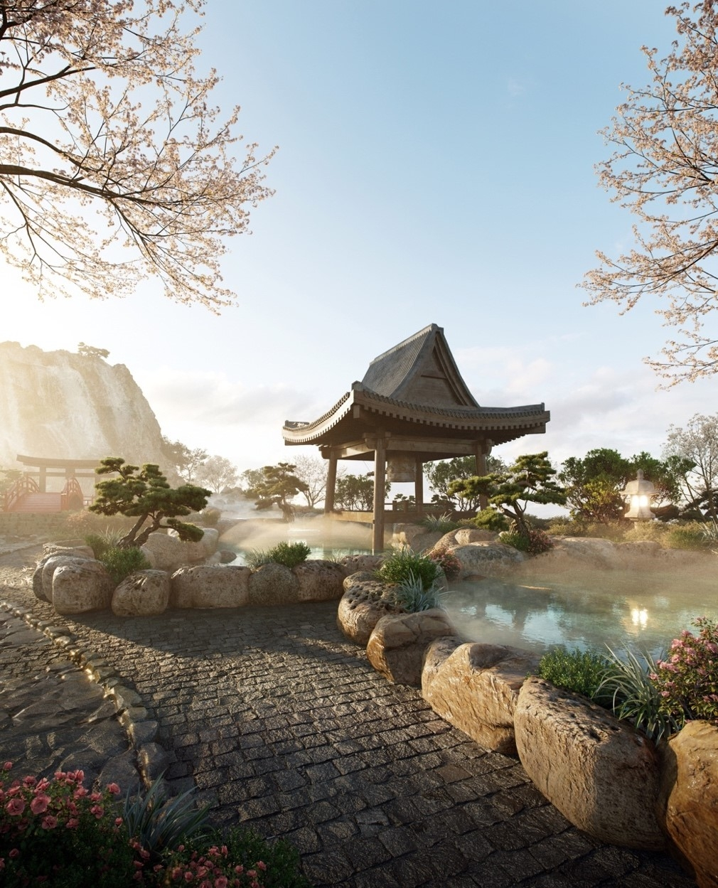 can canh to hop onsen 1000 ty trong ecopark phat trien boi 3 ong lon nhat ban