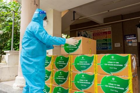 Một triệu viên thuốc Molnupiravir do Công ty DB tài trợ được chuyển đến 10 tỉnh, thành thí điểm điều trị F0 tại nhà