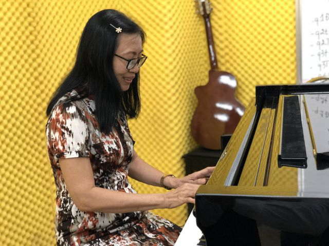 nu thi sinh 63 tuoi chinh thuc trung tuyen nganh piano bac dai hoc