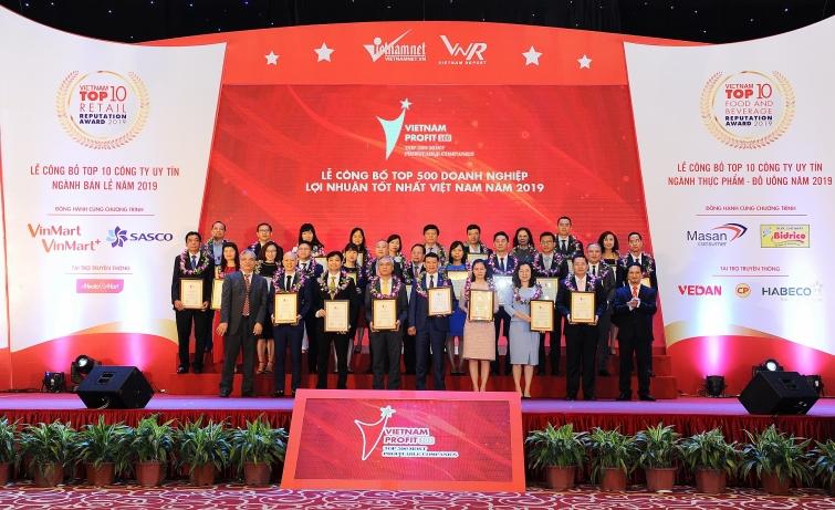 pvn pvgas nhan danh hieu cao trong top 500 doanh nghiep loi nhuan tot nhat viet nam 2019