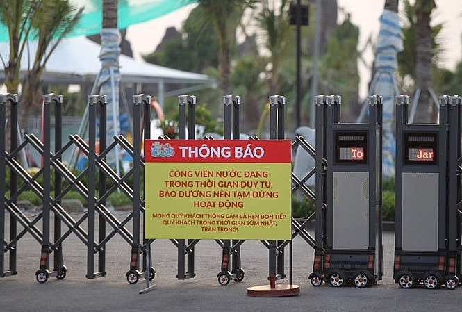 tam dinh chi hoat dong vo thoi han cong vien nuoc thanh ha