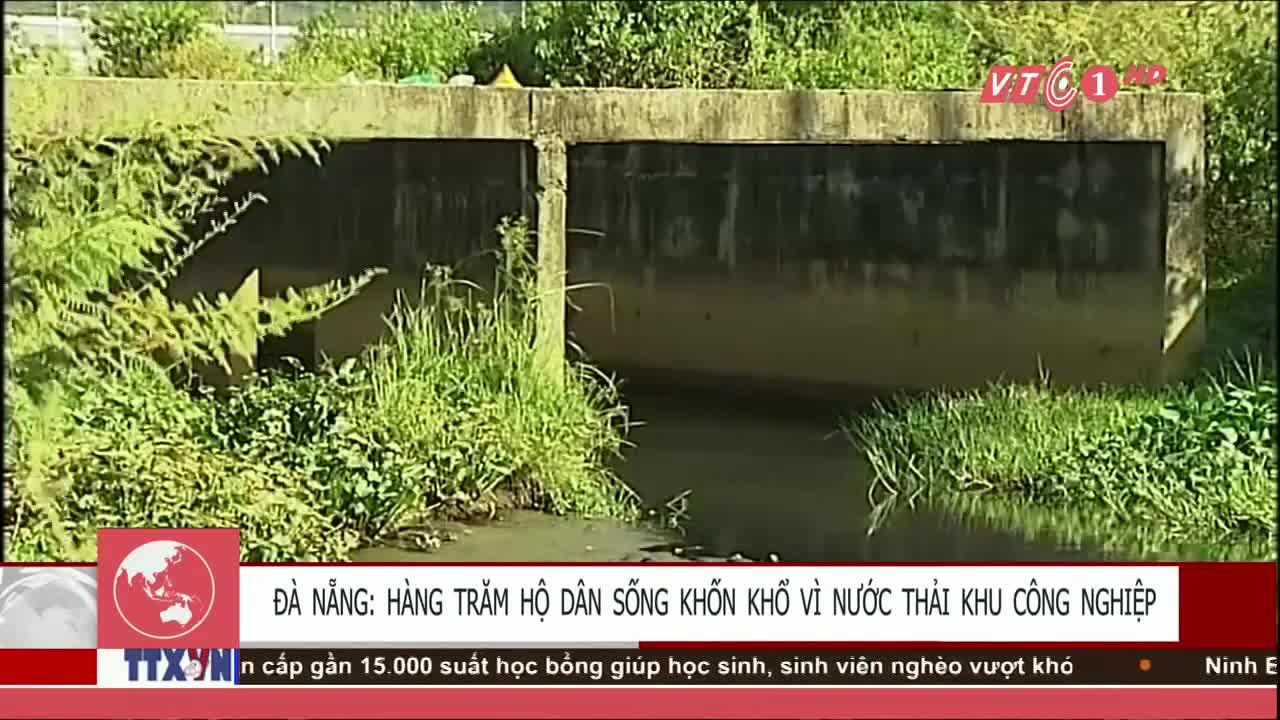 Nhà máy xử lí nước thải khu công nghiệp gây ô nhiễm đất nông nghiệp tạ
