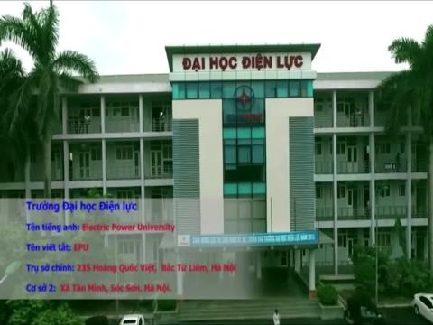 Trường Đại học Điện lực: Trường Xanh - Sạch - Đẹp