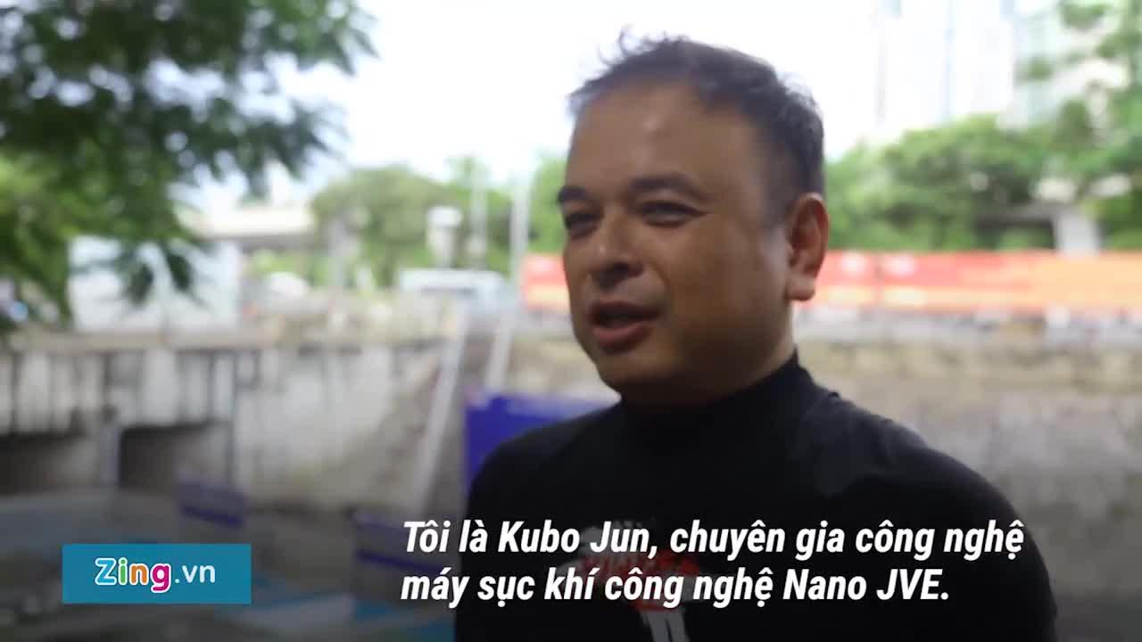 Chuyên gia Việt kể chuyện xử lý sông Tô Lịch sạch đến mức uống được