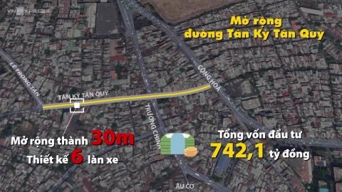Dự án gần 2.900 tỉ mở rộng đường cửa ngõ Tây Nam Sài Gòn