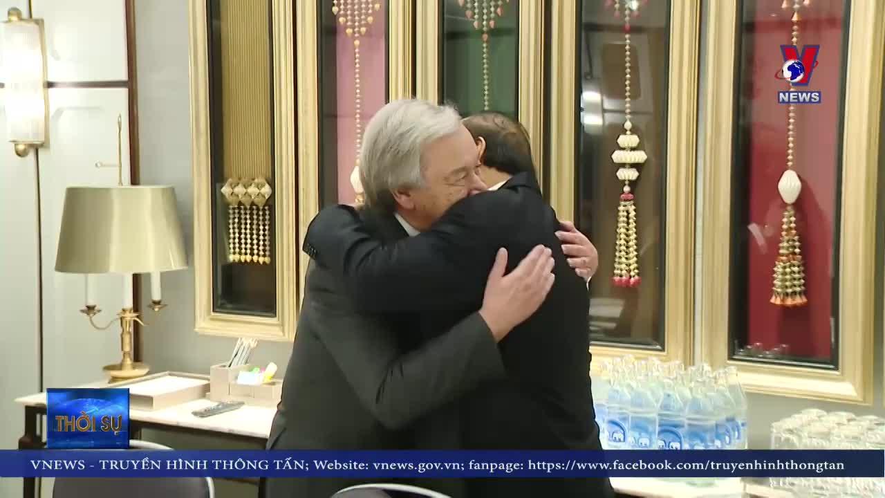 Thủ tướng tiếp Tổng thư ký Liên hợp quốc