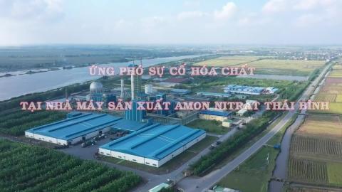 Ứng phó sự cố Hóa chất tại Nhà máy sản xuất AMON NITRAT Thái Bình