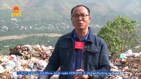 Sông Mã (Sơn La): Bãi rác ô nhiễm lơ lửng trên đầu dân
